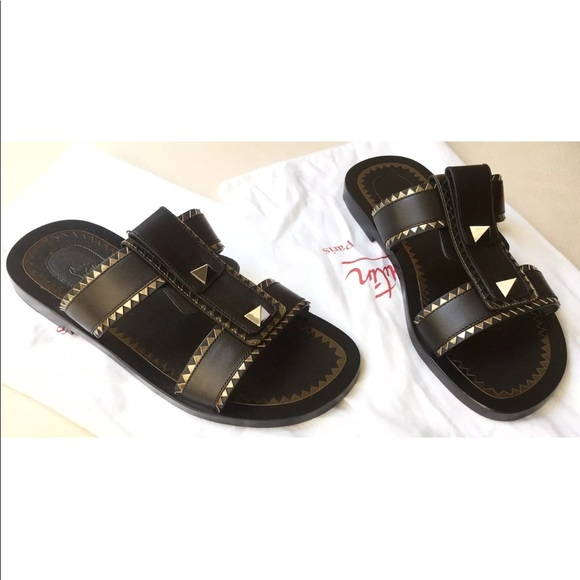 828b7202302 New Christian Louboutin Men Sandal Shoes US 7